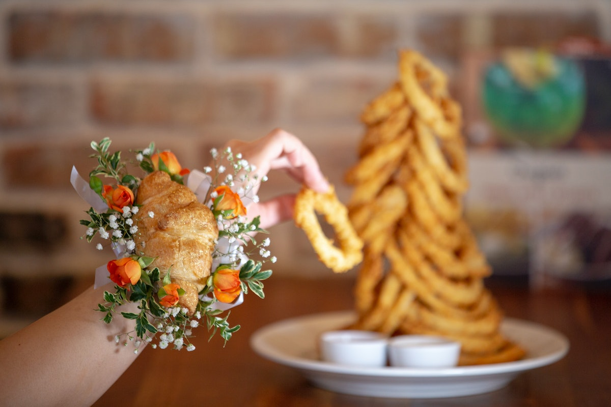 Cheddar's Scratch Kitchen's Croissant Corsages Are Ridiculous Yet Brilliant