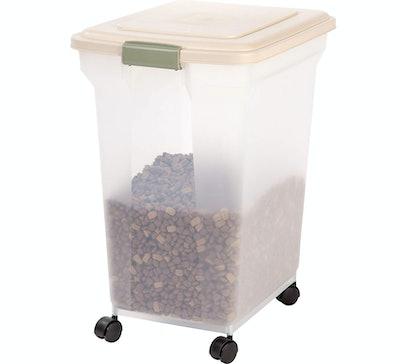 IRIS USA, Inc. Premium Airtight Pet Food Storage Container