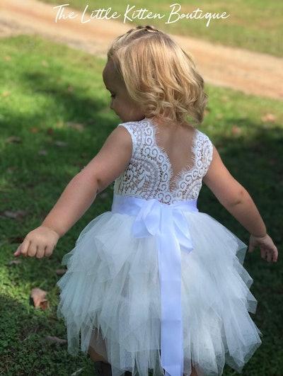 Rustic Lace Dress