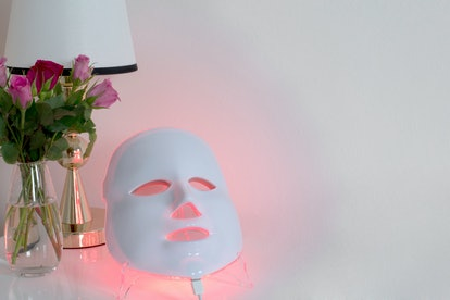 LED face masks are cheaper than the professional option, but aren't as effective