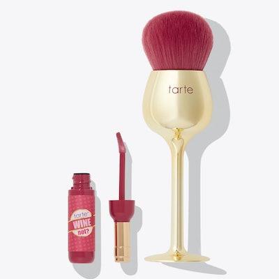 Wine Not Lip Gloss & Brush Set