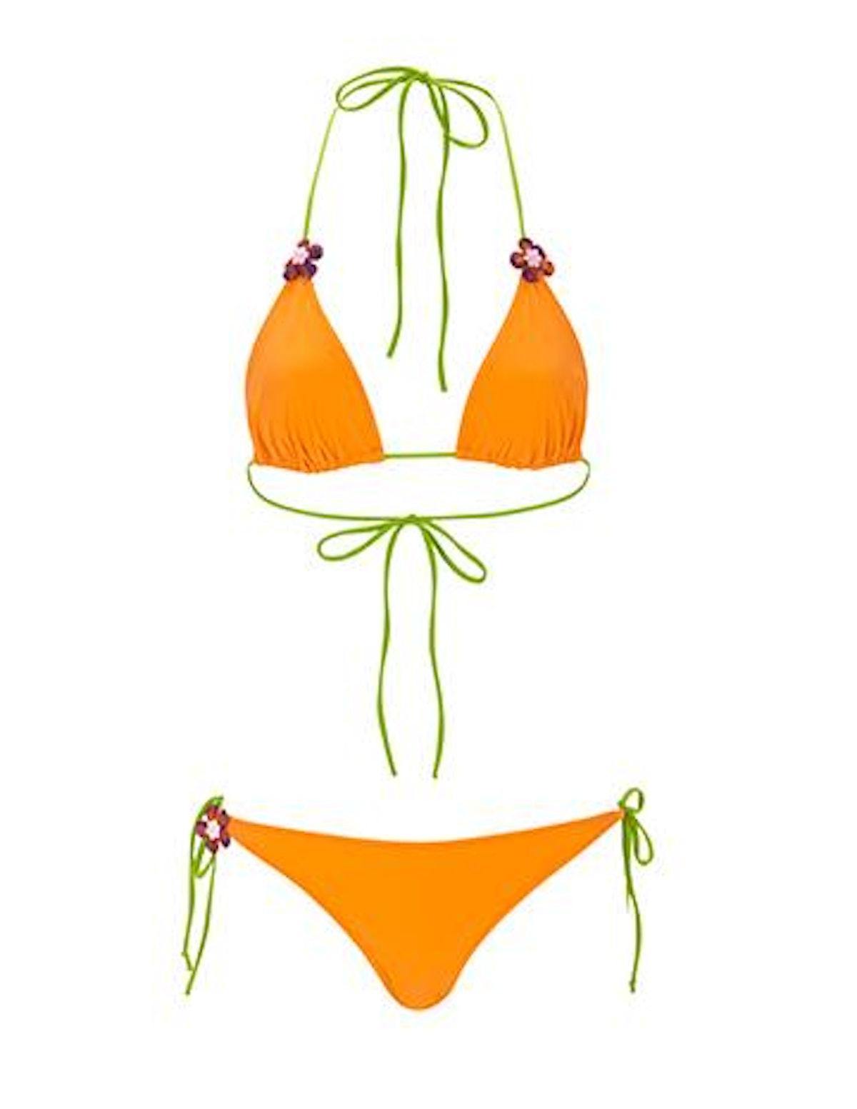 String Tie Bikini