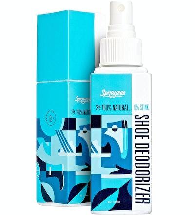 Sprayzee Shoe Deodorizer & Foot Odor Eliminator Spray (4 Oz)