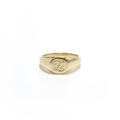 Classic Round Signet Ring
