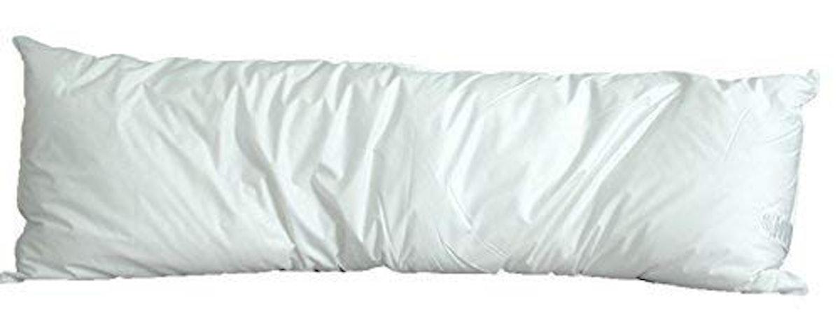 Pillowtex White Goose Down and Feather Body Pillow