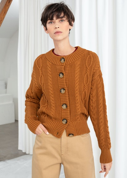 Cable Knit Cardigan
