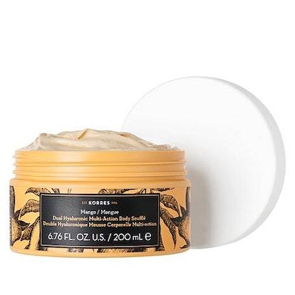 Korres Mango Dual Hyaluronic Souffle Body Cream