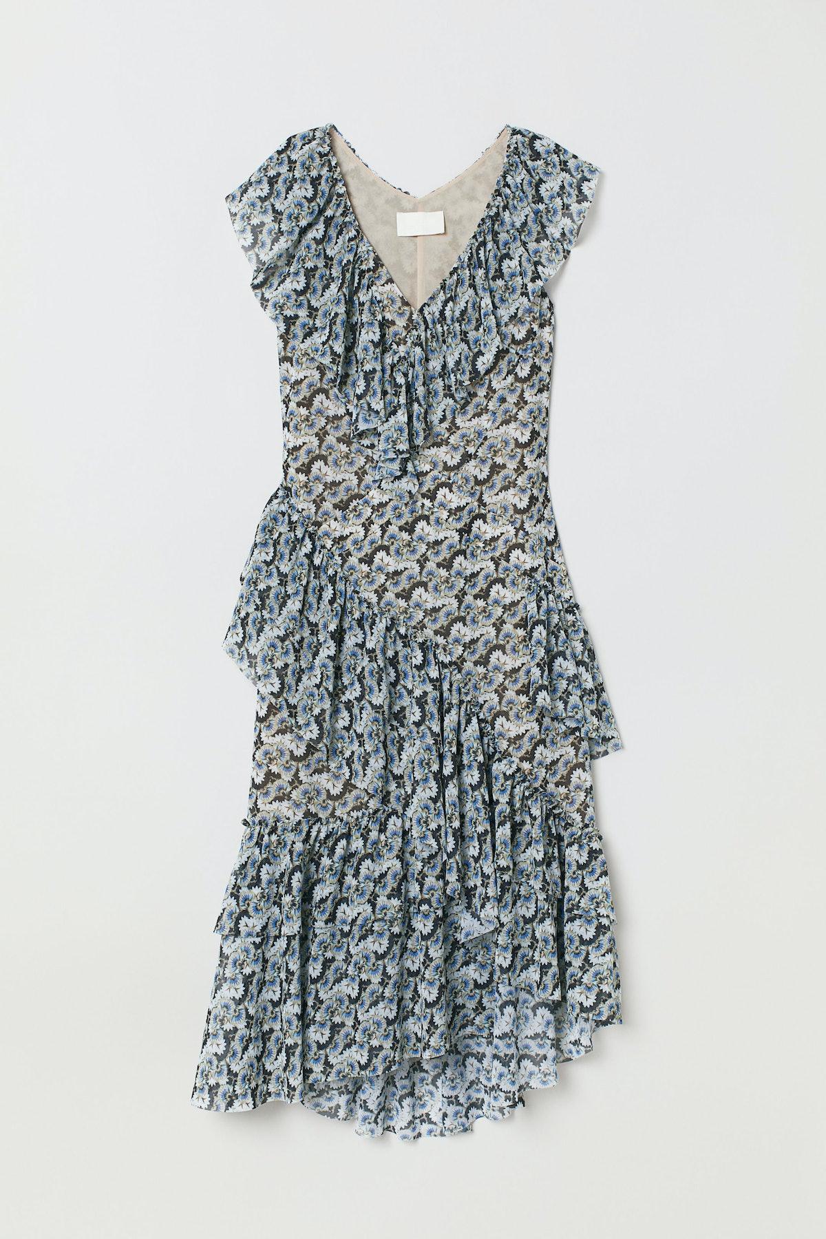 Flounced Dress