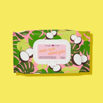Sugar Rush Coco-Nuts About You Makeup Removing Biodegradable Wipes