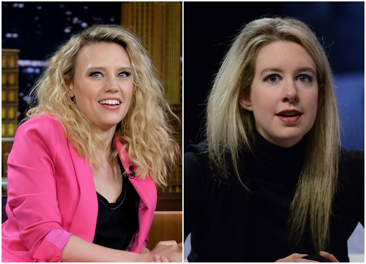 Kate McKinnon Is Playing Elizabeth Holmes In A New Hulu Series About Her Fraud