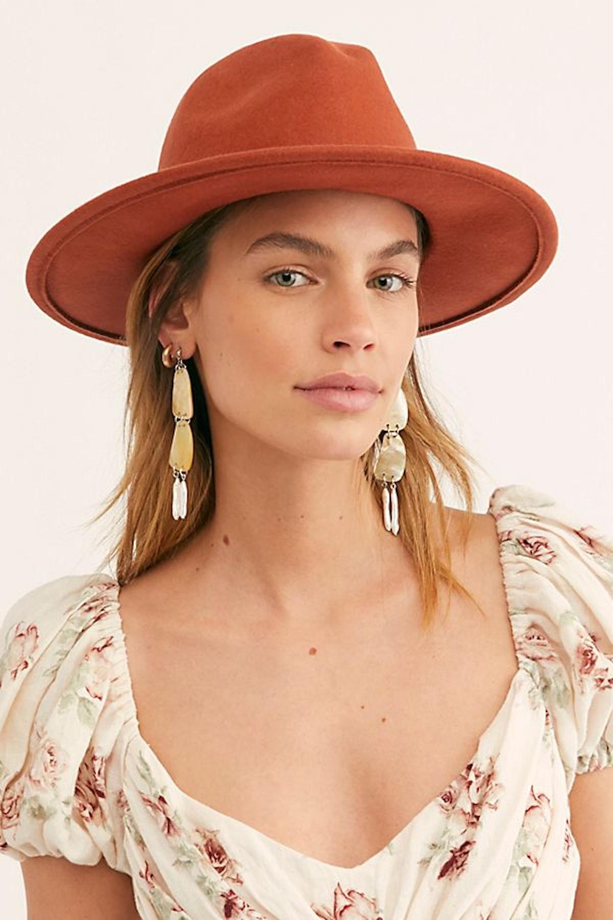Wythe Leather Band Felt Hat