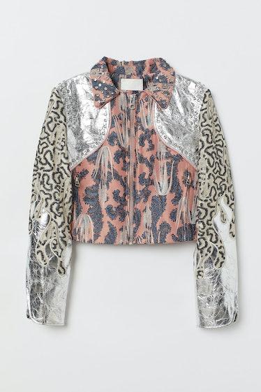 Short Brocade Jacket