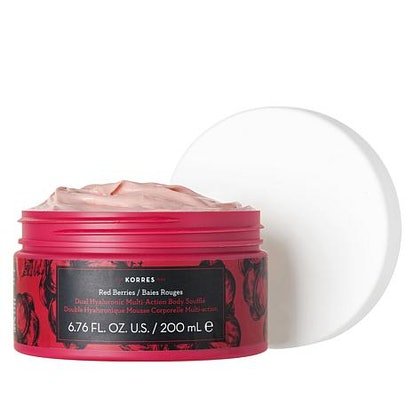 Korres Red Berries Dual Hyaluronic Souffle Body Cream