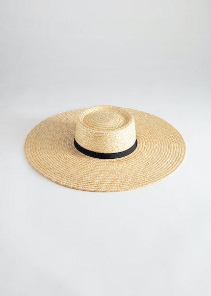 Round Top Straw Hat