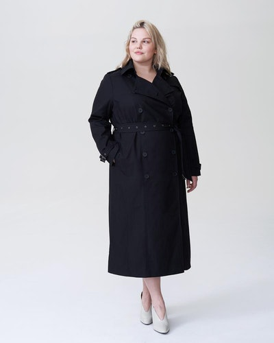 Tirsa Long Trench Coat