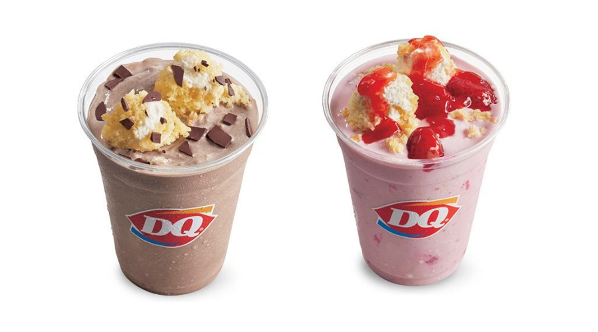 How Long Will Dairy Queen's Cake Shakes Be Available? You Can Treat Yourself For A Limited Time