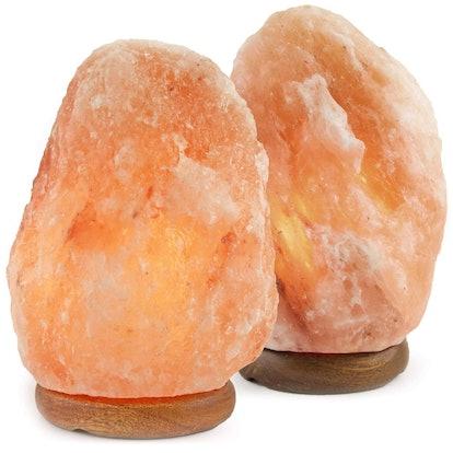 Crystal Allies Himalayan Salt Lamp (Set of 2)