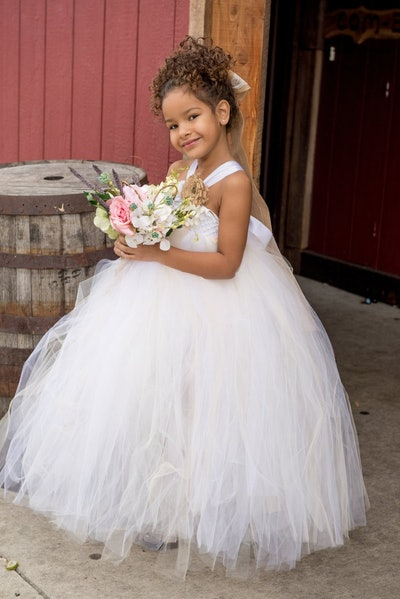 Kaya Country Couture Flower Girl Dress