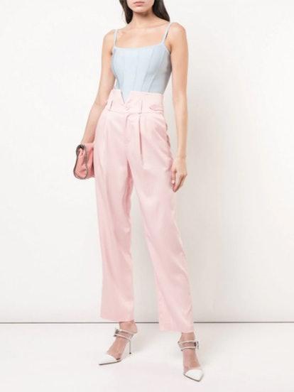V-Waist trousers