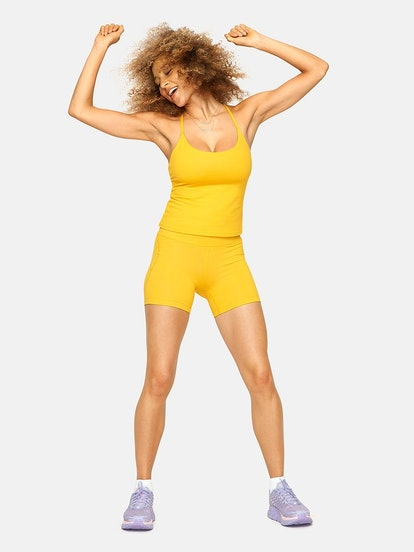 TechSweat Cami Tank, Sunshine