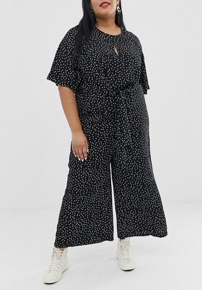 Relaxed Tie Front Jumpsuit