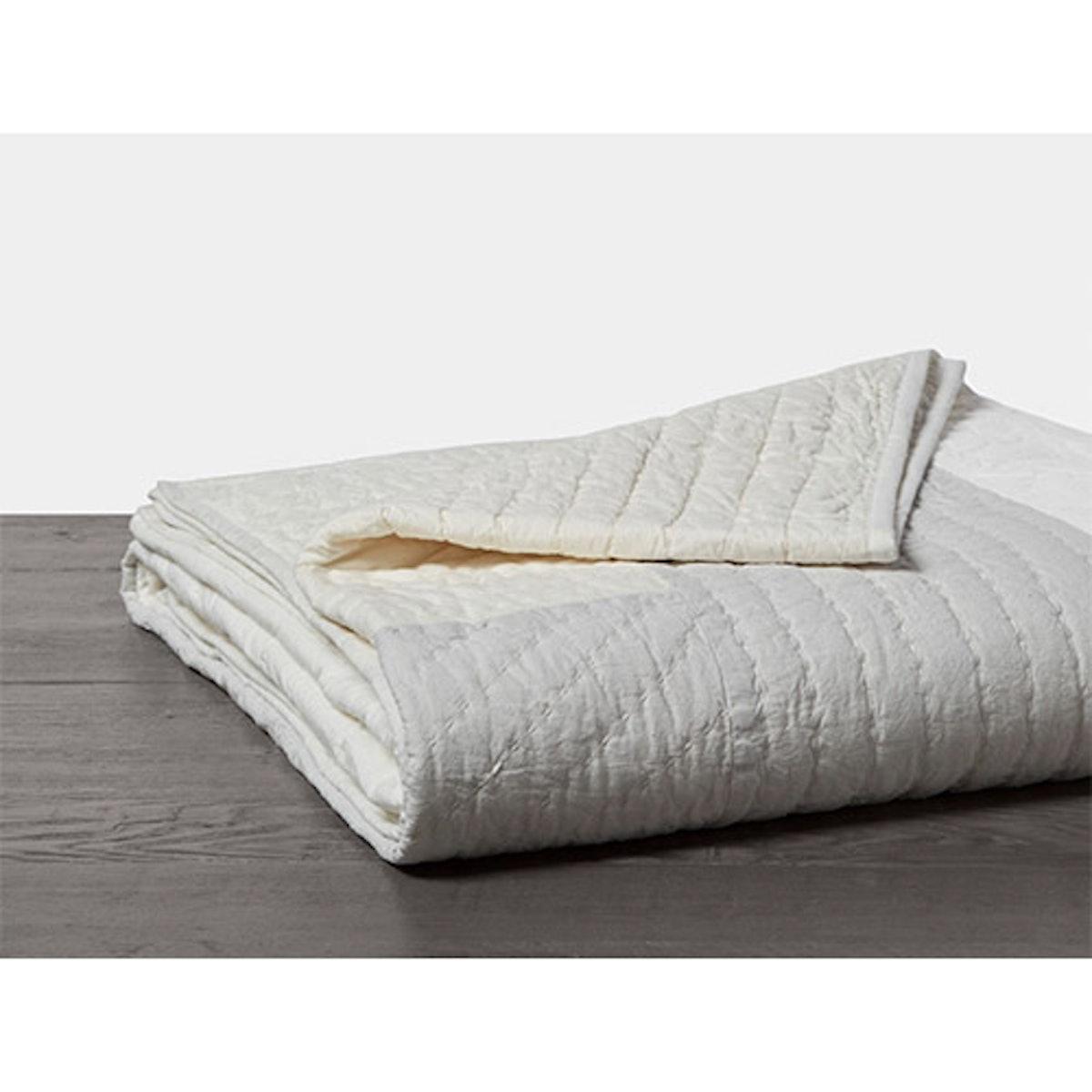 Color Block Organic Quilt