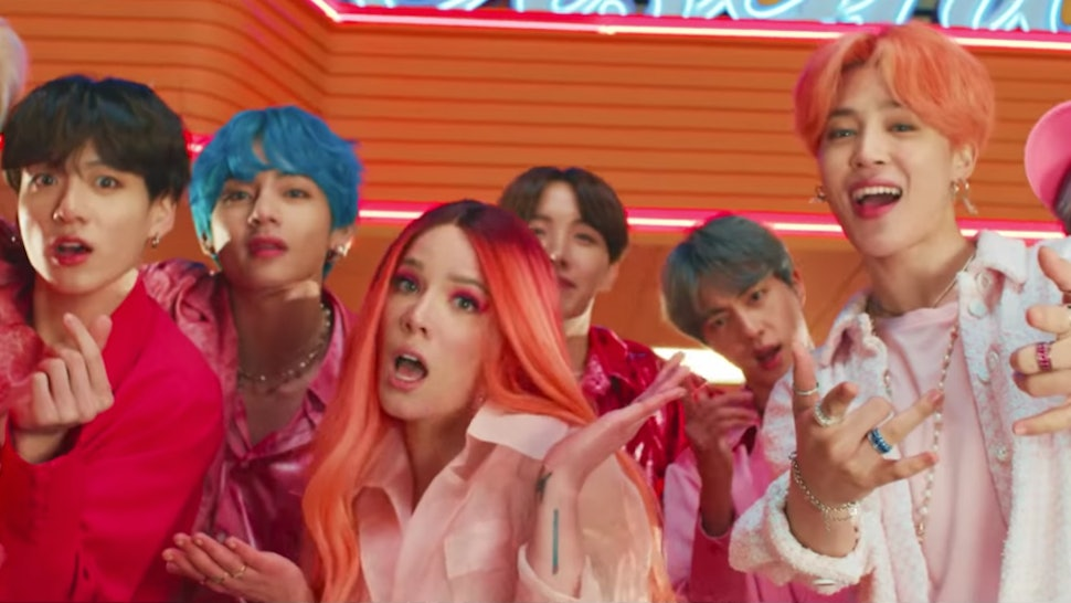 Bts Boy With Luv Video Ft Halsey Perfectly Celebrates Their