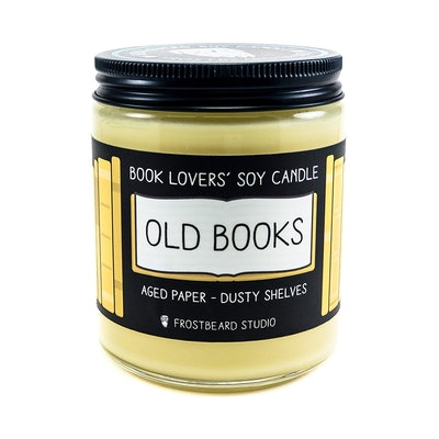 Old Books Book Lovers' Soy Candle