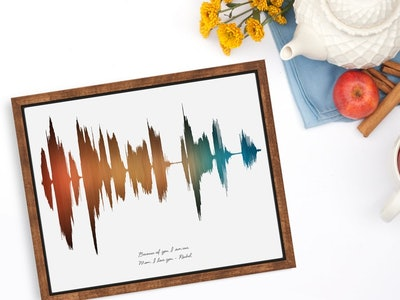Personalize Soundwave Art