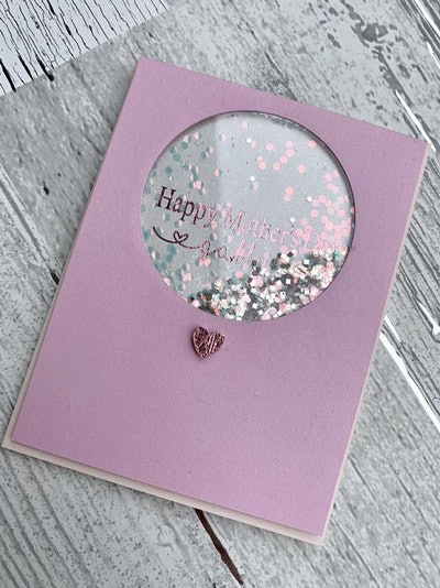Mother's Day Personalized Name Card