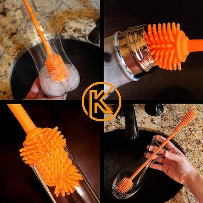Kitchiny Silicone Bottle Brush