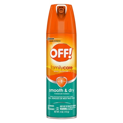 OFF! FamilyCare Insect Repellent, Smooth & Dry