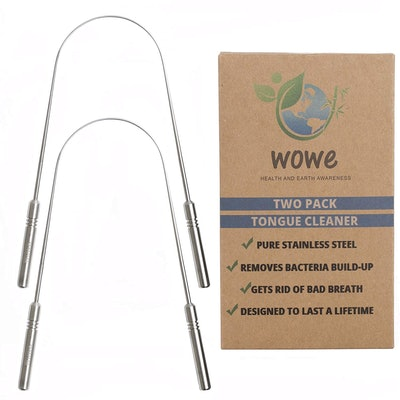 Wowe Tongue Scraper Cleaner (2 Pack)