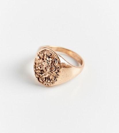 Lion Signet Ring