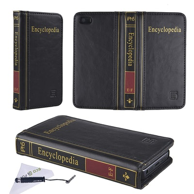 Handmade Faux Leather Classic Book Series Case for iPhone 5