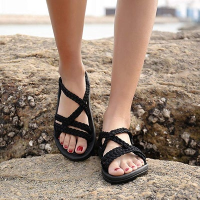 Megnya Women's Walking Sandals