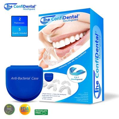 The ConfiDental Moldable Mouth Guard