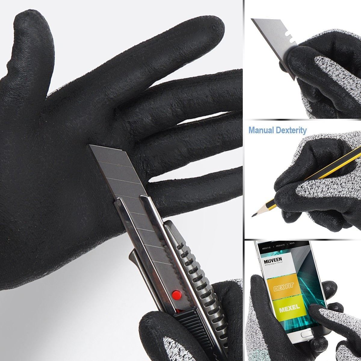DEX FIT Cut-Resistant Gloves