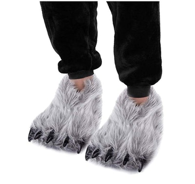 Caramella Bubble Bear Claw Slippers