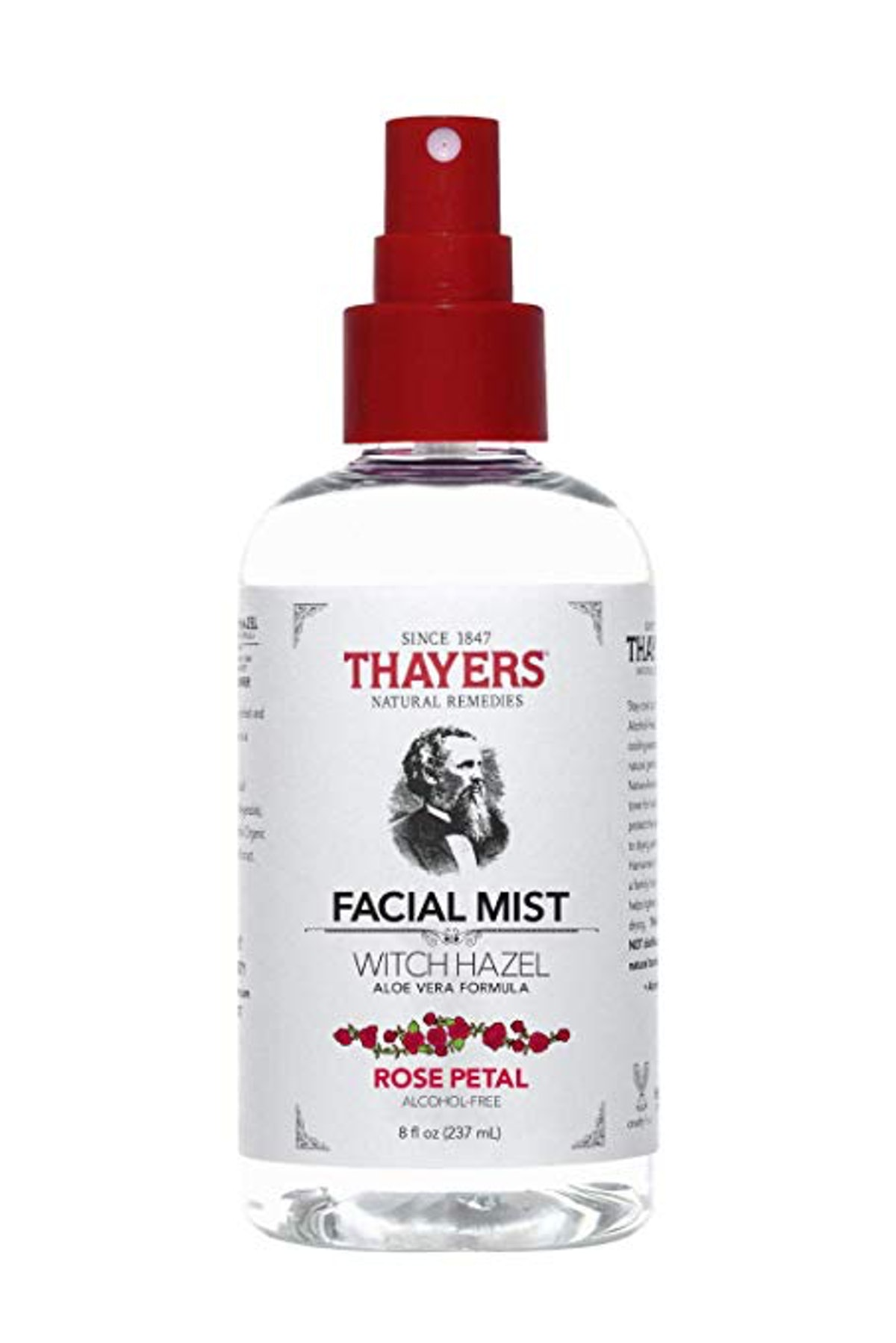 Alcohol-Free Rose Petal Witch Hazel Facial Mist Toner