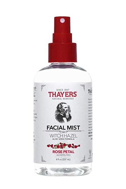 Thayers Natural Remedies Alcohol-Free Rose Petal Witch Hazel Facial Mist Toner