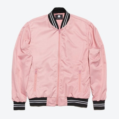 Dusty Rose Bomber