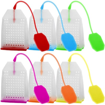 Silicon Tea Infuser (6-pack)