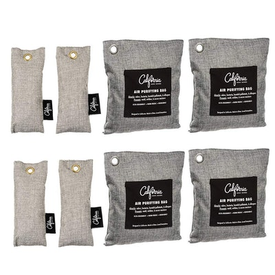 California Home Goods Bamboo Odor Eliminator Bags