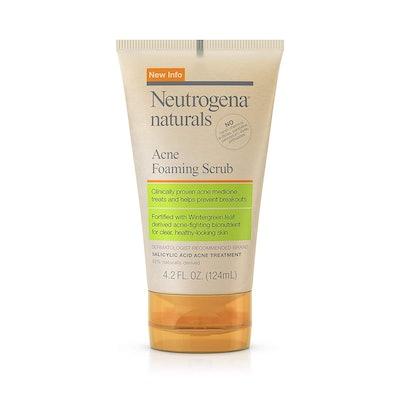 Neutrogena Naturals Acne Foaming Facial Scrub
