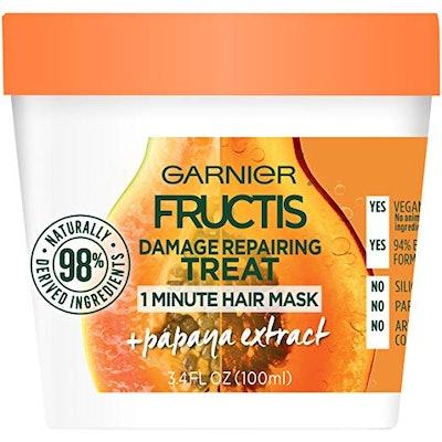 Garnier Fructis Damage Repairing 1-Minute Hair Mask, 3.4 Ounces