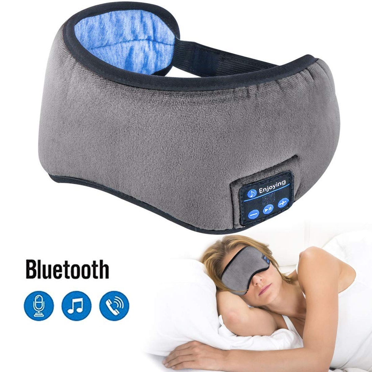 Homder Sleep Headphone Eye Mask