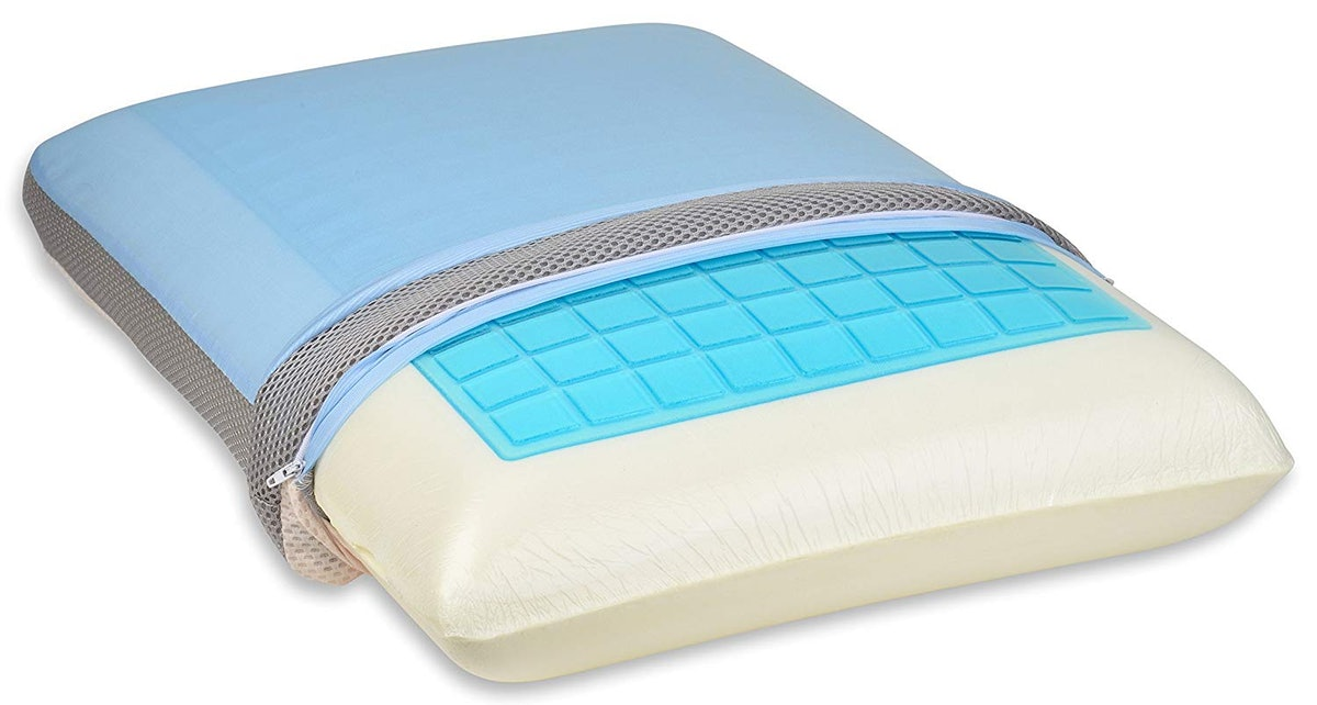 TruContour Soft Cooling Gel Memory Foam Pillow