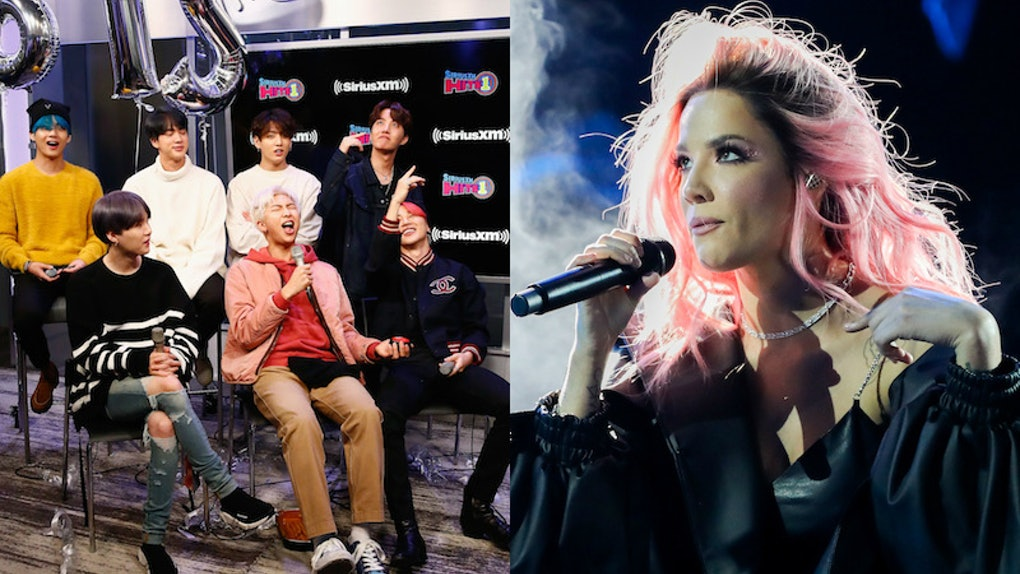 Halsey's Reaction To BTS' Jimin Telling Her To Look Him In