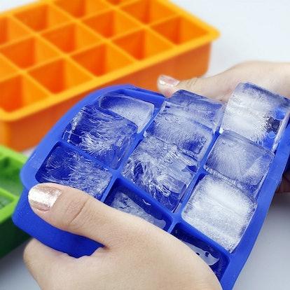 Ozera Silicone Ice Cube Trays (2 Pack)